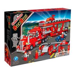 Banbao конструктор Автовоз техпомощь 700деталей 8762
