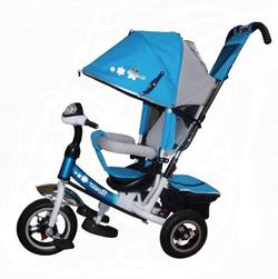 Велосипед Flower power trike трехколесный голубой