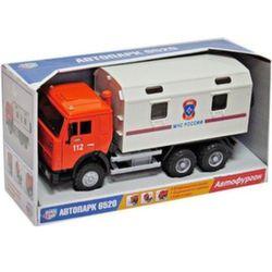 Инерционный грузовик МЧС, свет, звук, 1:28 A532-H36007