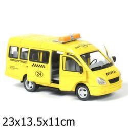 Газель такси коллекционная модель, свет звук A071-H11023-J006