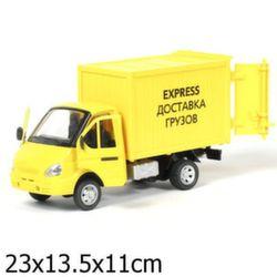 Газель фургон коллекционная модель, свет звук A071-H11011-J006