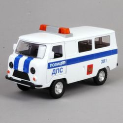 Уаз 452 Полиция ДПС коллекционная модель CT12-427-3