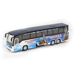 Автобус коллекционная модель, металл, свет звук CT10-025-2