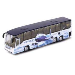 Автобус технопарк, металл, свет звук CT10-025(SB)