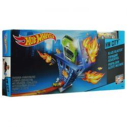 Хот Вилс Трековый набор Горящий небоскреб Hot Wheels X2604-CDK90