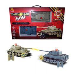 """Танковый бой на радиоуправлении """"Тигр и Т-34"""" C-00135"""