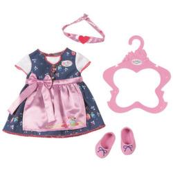 Одежда для кукол Беби Бон Платье с передничком 824-504