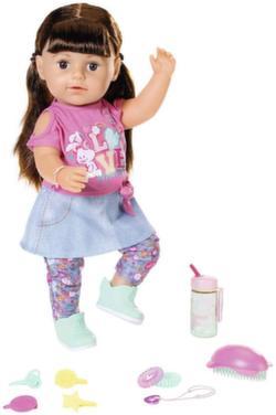 Кукла Беби Бон сестричка брюнетка 43 см 827-185