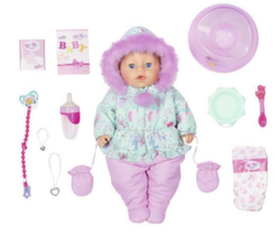 Интерактивная кукла Беби Бон Зимняя 827-529