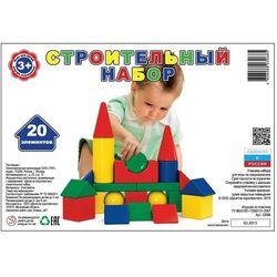 Детский конструктор Строительный набор 20 деталей 03068ВГ