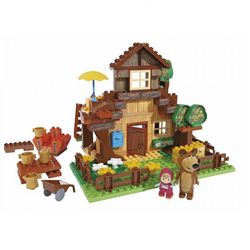 Конструктор Маша и Медведь. Дом Мишки, 163 деталей 800057098