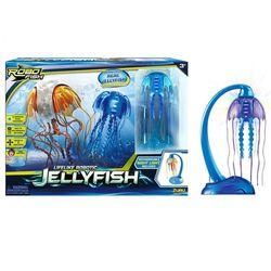 РобоМедуза синяя с подзарядкой и аквариумом Robofish 25183D