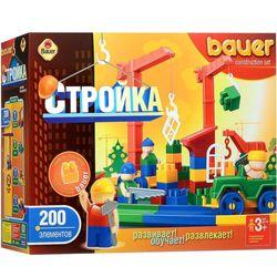 Конструктор Bauer Стройка 200 деталей