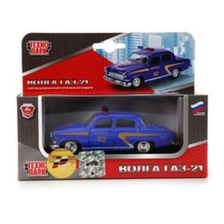Машина Технопарк Газ Волга 21 милиция X600-H09040-R