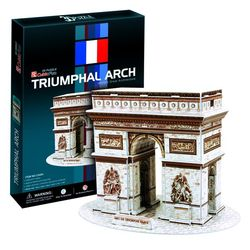 3D пазл объемный Триумфальная арка Париж C045h