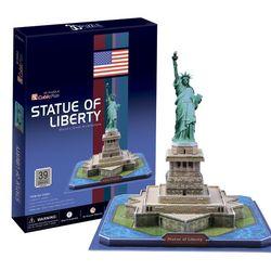 3D пазл объемный Статуя Свободы США C080h