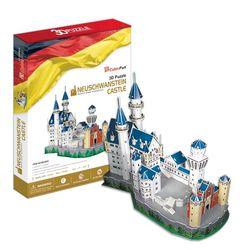 3D пазл объемный Замок Нойшванштайн MC062h