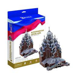 3D пазл объемный Преображенская церковь Кижи Россия MC169h