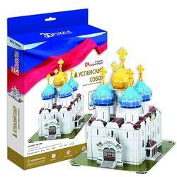 3D пазл объемный Успенский собор, Троице-Сергиева Лавра Россия MC190h