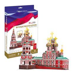 3D пазл объемный Рождественская церковь Россия MC191h