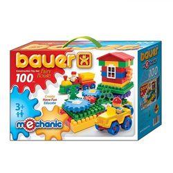 Конструктор Bauer Mechanic Избушка 100 элементов 188b