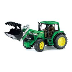Bruder Трактор John Deere 6920 с погрузчиком 02-052