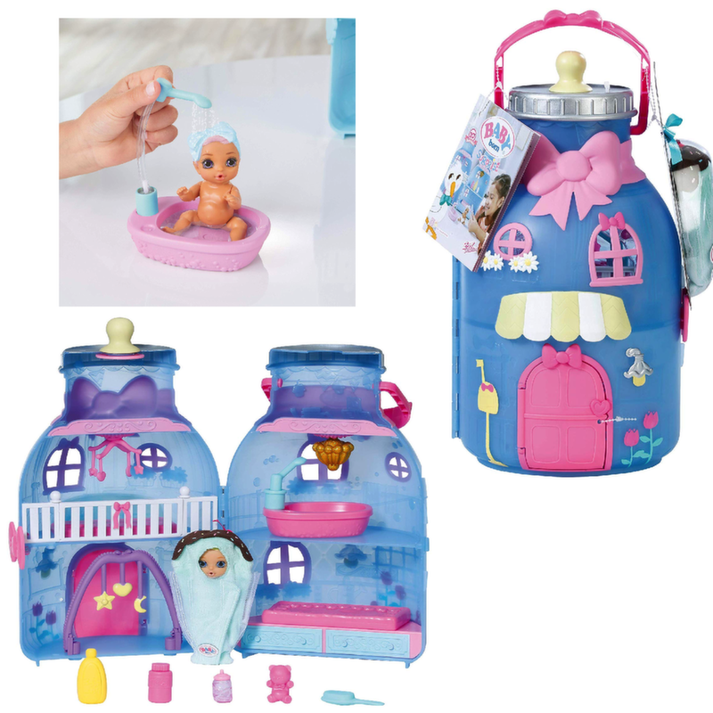 Беби Бон Бутылка - домик с куклой, 20 сюрпризов 904-145