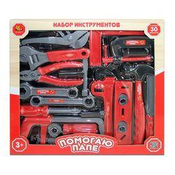 Набор инструментов Помогаю папе 30 предметов PT-00271