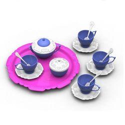 Набор посуды Волшебная Хозяюшка 15 предметов Н-622