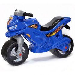 Каталка-мотоцикл беговел Racer RZ 1 ОР501 озвученная синий