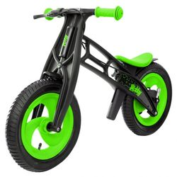 Велобалансир беговел Hobby-bike RT FLY А черная оса Plastic kiwi/black