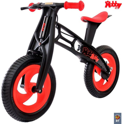 Велобалансир беговел Hobby-bike RT FLY А черная оса Plastic red/black