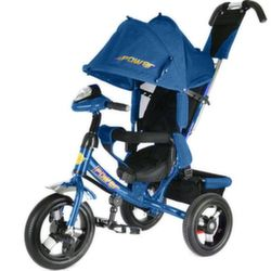 Велосипед Power Trike New 2016 трехколесный синий