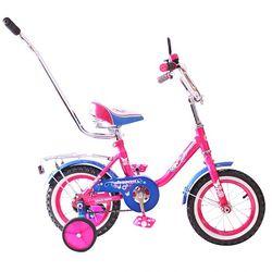 """Двухколесный велосипед Princess 12"""" с ручкой KG1202 розовый"""