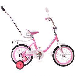 """Двухколесный велосипед Princess 12"""" с ручкой KG1202 нежный"""
