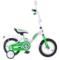 """Двухколесный велосипед Aluminium BA Ecobike 12"""" KG1221 зеленый"""