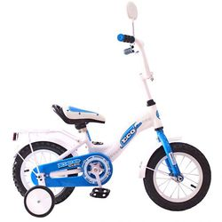 """Двухколесный велосипед Aluminium BA Ecobike 12"""" KG1221 голубой"""