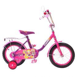 """Двухколесный велосипед BA Camilla 14"""" KG1417 фиолетовый"""