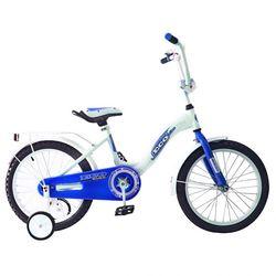 """Двухколесный велосипед Aluminium BA Ecobike 16"""" KG1621 голубой"""