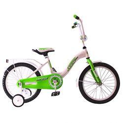 """Двухколесный велосипед Aluminium BA Ecobike 18"""" KG1821 зеленый"""