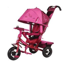 Детский трехколесный велосипед Beauty BA2RP малиновый