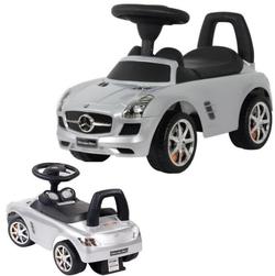 Каталка автомобиль Mercedes-Benz с музыкой 332Р серебро металлик