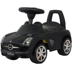 Каталка автомобиль Mercedes-Benz с музыкой 332Р черный матовый