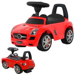 Каталка автомобиль Mercedes-Benz с музыкой 332Р красный