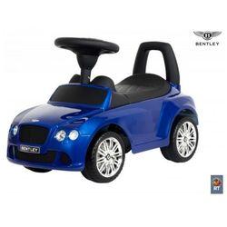 Каталка автомобиль Bentley с музыкой 326Р синий металлик