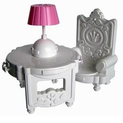 Мебель для кукол кабинет Сонечка С-129-Ф