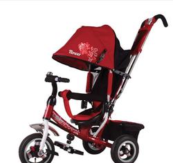 Велосипед трехколесный Flower trike JF7P красный
