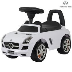 Каталка автомобиль Mercedes-Benz с музыкой 332Р белый
