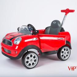 Каталка Mini Cooper Geoby ZW455 красный