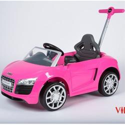 Каталка машинка Audi ZW460 розовый